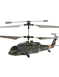 SYMA S102G 3.5 Channel Infrared Remote Control Mini Helicopter with Gyro (Army Green,6xAA)