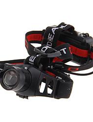 3-Mode Cree XP-E Q5 светодиодный Увеличить фары (240LM, 3xAAA, Черный)