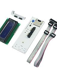 Rampas em 3D Printer RepRap LCD controlador Smart Kit