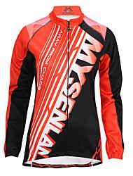Queda MYSENLAN2013 mulheres e inverno Estilo BRILHO Cycling Jacket com Double Composite Fleece