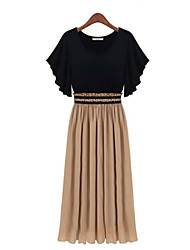 Women's Dresses , Linen/Others Casual MFL