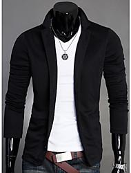 Negro Nuevo Modelo de punto pequeño collar del soporte de la capa del juego de los hombres QER