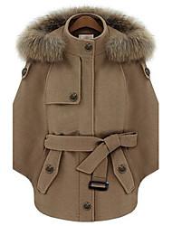 pinklady raton laveur cape manteau manteau court