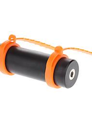 100% étanche Lecteur MP3 et écouteur avec Stylish Fluorescent attache de la dragonne Goggle