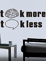 Mots penser et parler Stickers muraux