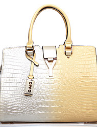 Almond cuir PU Mode Western OPPO femmes Totes Changement de couleur Sacs Crossbody