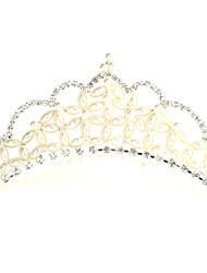 Lega Tiaras con strass / imitazione perla per la cerimonia nuziale / Occasioni speciali