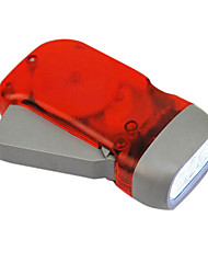 Rouge de poche Dynamo 3 LED Eco-friendly