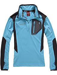 EAMKEVC-Frauen Quick Dry Camping Coat (Blau, Gelb)