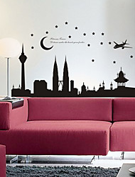 Landscape Night Scene Wall Stickers
