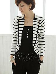 Stripes Casual Exteriores da Mulher