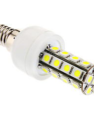 6W E14 Ampoules Maïs LED T 30 SMD 5050 360 lm Blanc Froid AC 85-265 V