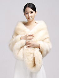 Party/Evening / Casual Faux Fur Shawls Fur Wraps