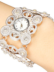 Women's Dress Watch Bracelet Watch Japanese Quartz Quartz Alloy Band Sparkle Bohemian Elegant Black Silver Gold