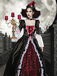 Fantasia de Vampira de Versailles (2 Peças)