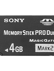 4GB Memory Stick PRO DuoMax Read SpeedMinimum of 15MB/sec (MB/S)Max Write SpeedMinimum of 15MB/sec (MB/S)