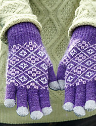 Cube Pattern Touch-screen  Gloves