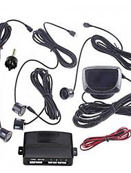 Car LCD Screen Reverse Backup Radar Kit with 4 Sensors