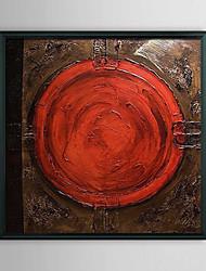 Абстрактные красный глаз обрамленная картина маслом