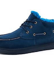 Maueken Men'S Wolle Schneeschuhe Blau