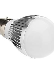 Lampadine globo 15 SMD 5630 B22 6 W 500-600 LM 6000 K Luce fredda AC 85-265 V