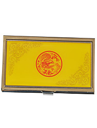 Personalized Business Style Engraved Business Card Holder (Assorted Colors)