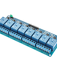 8-Channel 5V Relay Module Shield for (For Arduino)