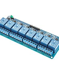 8 canais 5v relé módulo escudo para (para arduino)