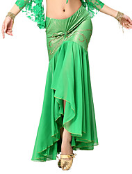 Dancewear Chiffon And Viscose Belly Dance Skirt For Ladies
