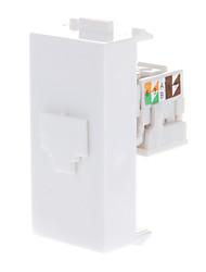 Keystone Jack modulaire F Type Blanc