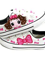 Per bambina-Sneakers-Casual-Comoda-Piatto-Di corda