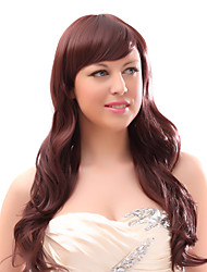 Capless Charming Long Curly Mixed Hair Wig