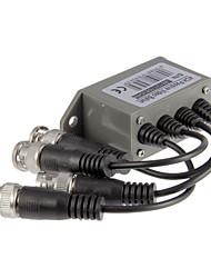 4 Canal de video (BNC) de UTP (RJ45) Video Balun