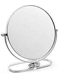 """8 """"en acier inoxydable rond table Mirror"""