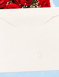 Beige Pearl Paper Embossed Envelope - Set of 12