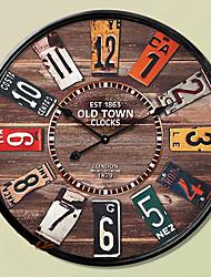 """14 """"style h paese orologio da parete mentale"""