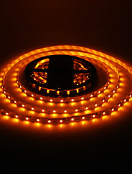 5M 24W 60x3528SMD 900-1200LM Giallo Luce LED Strip (DC12V)