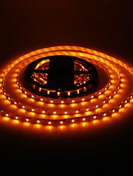 24W 5M 60x3528SMD 900-1200LM lumière jaune de bande de LED (DC12V)