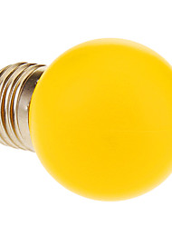 E26/E27 1W 12 60 LM Warm White LED Globe Bulbs AC 220-240 V