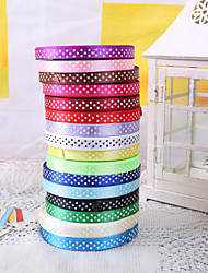 "3/8"" Polka Dot Ribbon Gift Package Decoration (More Colors)"