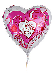 Heart Metallic Balloon - Happy Heart's Day