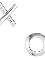 Fashionable Sterling Silver Stud Earrings For Women