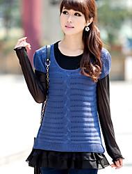 Women's Tops & Blouses , Chiffon/Cotton Casual Xinhuiyi