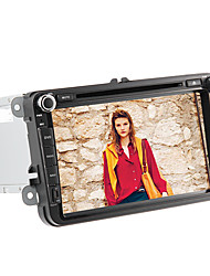 8-Zoll-2 din im Armaturenbrett Auto-DVD-Player für Volkswagen mit GPS, BT, canbus, iPod, rds, Touchscreen