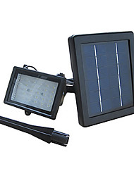 30-LED Cool White LED Rechargeable Waterproof solarbetriebene Flood Light White Lampe mit Lithium-Batterie