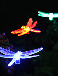 Solar RGB Dragonfly Garden Light Stake