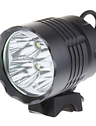 Others Headlamps / Bike Lights 3 Mode 3200 Lumens 18650 Strike Bezel LED Cree XM-L T6 Camping/Hiking/Caving / Cycling / Fishing / Working