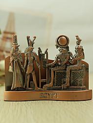 Personalizado Cobre Retrato do Egito Antigo Estilo Porta-cartões