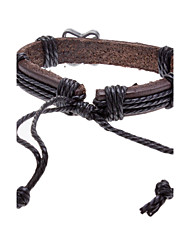 Lureme®Unisex Violin Fabric Leather Bracelet(Random Color) Christmas Gifts