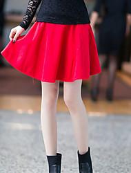 Mujer plisados Mini Skirt